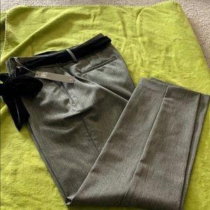 Loft juli fit black tweed pants